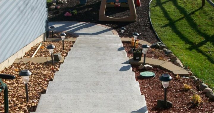 Repairing Your Concrete Steps